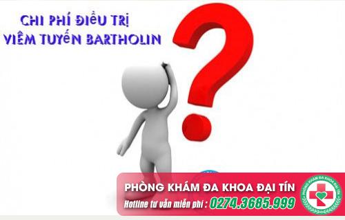 Chi phí điều trị viêm tuyến Bartholin