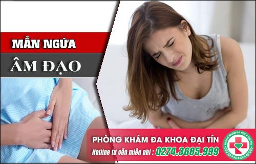 Ngứa âm hộ báo động sức khỏe sinh sản của nữ giới