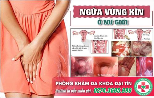 Nguyên nhân gây ngứa vùng kín ở phụ nữ