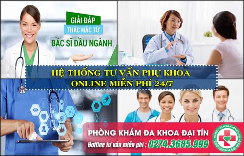 Tư vấn phụ khoa trực tuyến miễn phí với bác sỹ giỏi